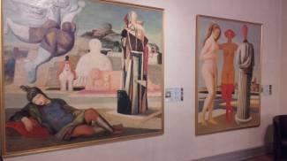 Mostra di Salvatore Fiume alla Casa del Mantegna a Mantova