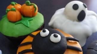 Laboratori di Cupcakes di Halloween
