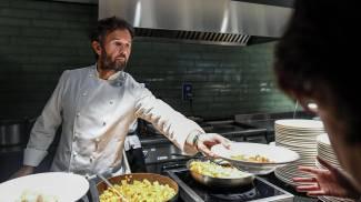 Lo chef Carlo Cracco (Ansa)