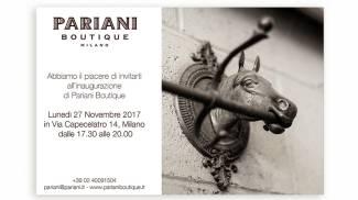 Equitazione: inaugurazione Pariani Boutique