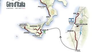 Tappe del Giro d'Italia (Afp)
