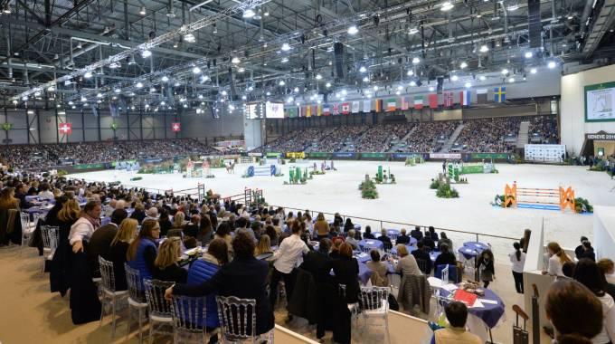 L'arena indoor di Ginevra (ph. Joseph Carlucci)