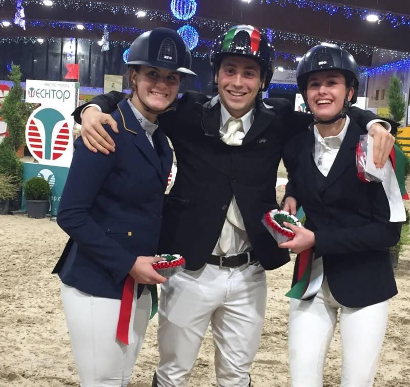 Rebecca Gasbarrini, Andrea Zanini Mariani e Emma di Francesco: a tutto Gese!