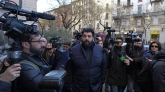Antonino Cannavacciuolo ai funerali di Marchesi