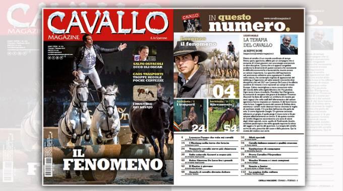 Cavallo Magazine 374 di Gennaio Febbraio 2018 è in edicola