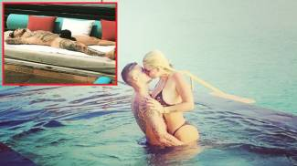 Mauro Icardi e Wanda Nara in vacanza alle Maldive (Instagram)