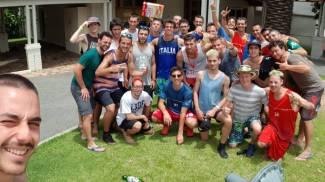 La foto della Nazionale pubblicata dai ragazzi in Australia