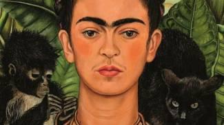 """IN ESPOSIZIONE A sinistra l'opera """"Diego nella mia mente"""" (Gerardo Suter) e a destra """"Autoritratto"""" (crediti foto: Banco de México Diego Rivera Frida Kahlo Museums Trust, Mexico, D.F. by Siae 2018)"""