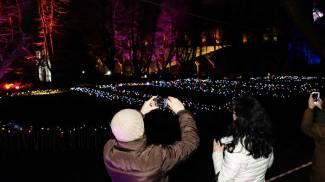 Il festival delle luci in castello