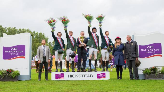 Hickstead is ''the Longines FEI Jumping Nations Cup™ of Great Britain'' ©AEJC