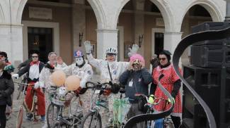 Alcuni dei partecipanti al Carnevale (foto Petrelli)