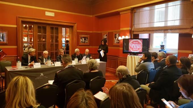 Conferenza stampa presentazione Cavalli a Roma 2018 (ph. Diana Migliaccio)