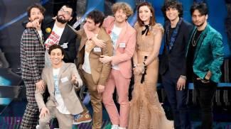 Sanremo 2018: i tre finalisti (Ansa)