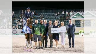 Laura Graves and Verdades Unbeatable at 2018 Adequan® Global Dressage Festival