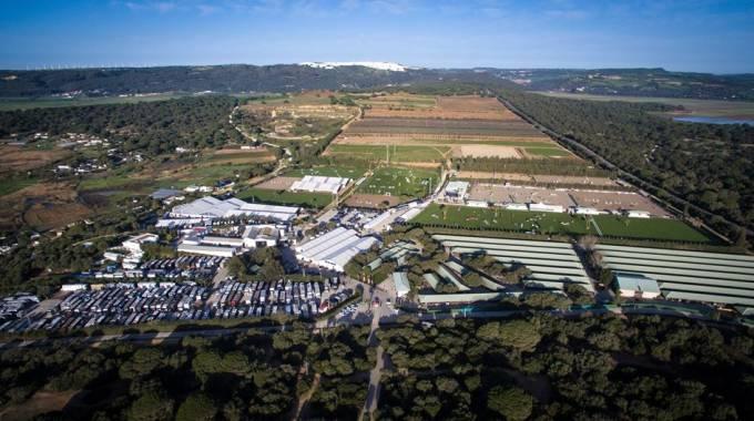 Panoramica degli impianti a Vejer de la Frontera (ph. Sunshinetour.net)