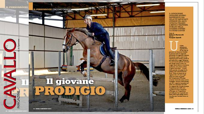 Giacomo Casadei: campione precoce