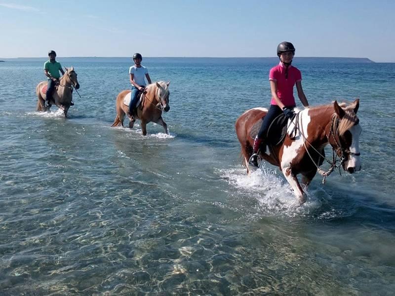 Horse Country Resort in Sardegna, una vacanza con la natura e con i cavalli ©HCR