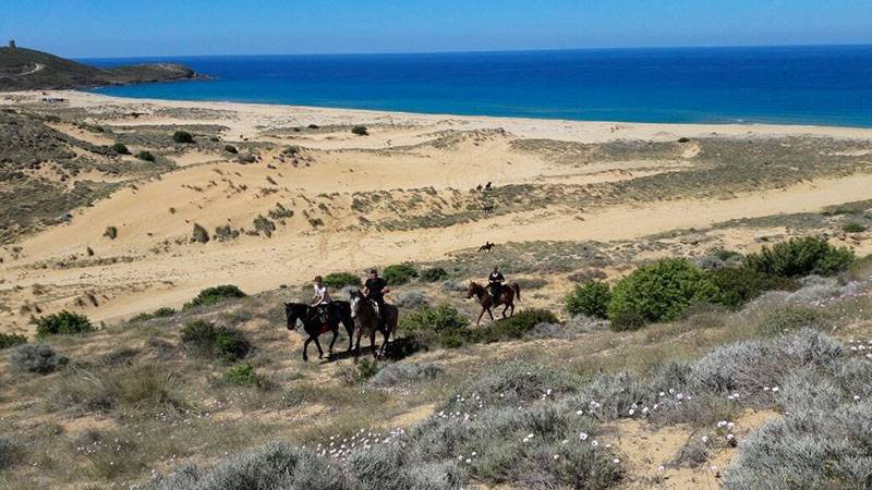Trek a Torre Corsari by Horse Country Resort in Sardegna
