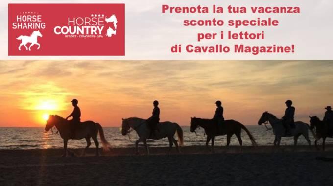 Horse Country Resort in Sardegna, sconto per i lettori di Cavallo Magazine