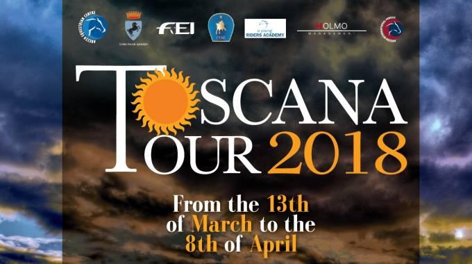 Locandina Toscana Tour 2018 (C) Arezzo Equestrian Centre