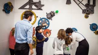 4) Laboratori al Museo Nazionale della Scienza e della Tecnologia