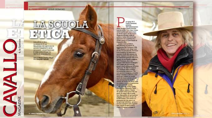 Cavallo Magazine 376: la scuola etica di Leslie Desmond