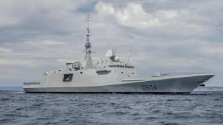 Una fregata francese fregate Fremm (Ansa)