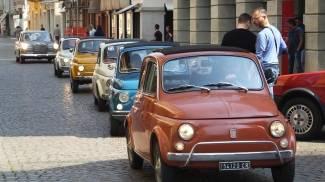 Il raduno delle Fiat 500