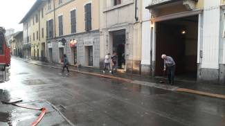 La pioggia a Legnano
