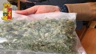 Sequestro di droga a Urbino