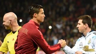 Cristiano Ronaldo, a sinistra, e Lionel Messi. I due re sono i più attesi (LaPresse)