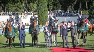 Piazza di Siena: il trionfo dell'Italia!