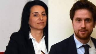 Seregno - Ilaria Cerqua (centrodestra) e Alberto Rossi (centrosinistra)