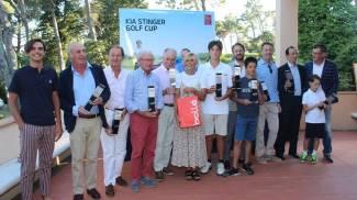 Kia Stinger Golf Cup all'Ugolino