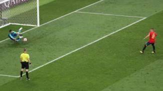 Mondiali 2018, la Russia batte la Spagna. Il rigore parato (Ansa)