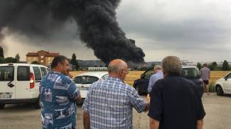Incendio alla Orim (Calavita)