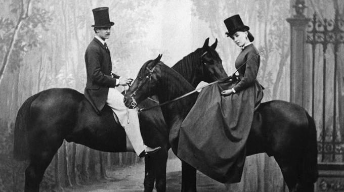 Il principe Murat e Cora Pearl, foto Delton