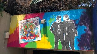 Il nuovo murale