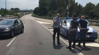 La tangenziale di Modena in tilt