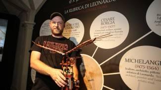 L'ornitottero costruito col lego da Jacob Sadovich