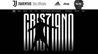 L'immagine postata sul sito della Juve per annunciare l'arrivo di Cristiano Ronaldo