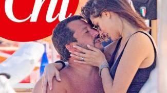 Le coccole hot tra Salvini e la Isoardi (Chi)