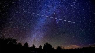 Una stella cadente (Fotowebgio)