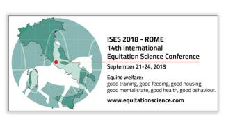 14th annual International Society for Equitation Science (ISES) conference in Rome