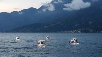 Le Lucie nel lago di Lecco