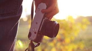 Una macchina fotografica