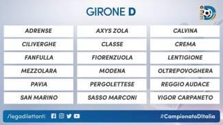Il girone del Modena