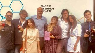 Emanuela Mascherini (al centro)