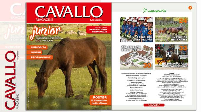 Cavallo Junior di settembre