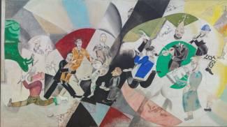 Una delle opere di Chagall